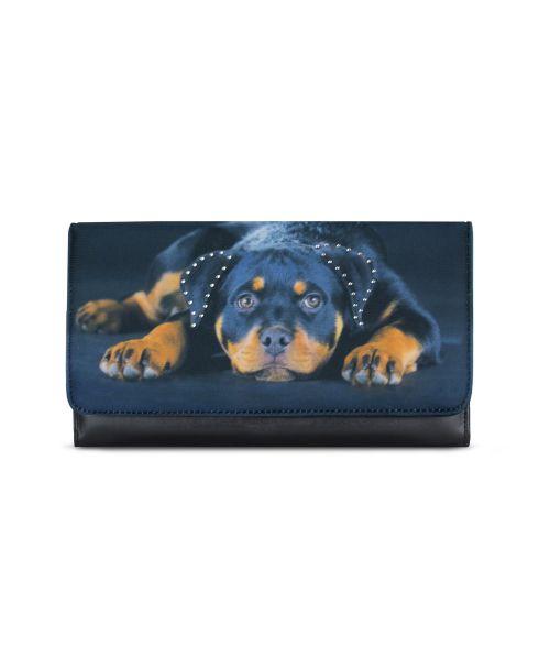 Grand compagnon - Porte-chéquier - Bébé Rottweiler