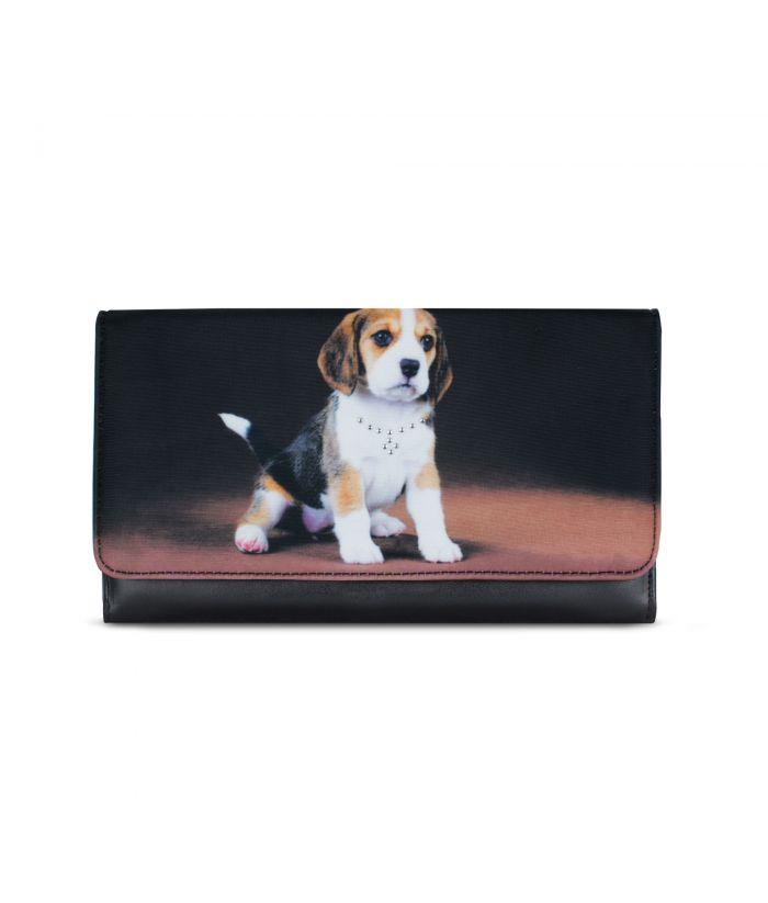 Grand compagnon - Porte-chéquier - Bébé Beagle