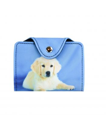 Porte-cartes -  Bébé Golden Retriever