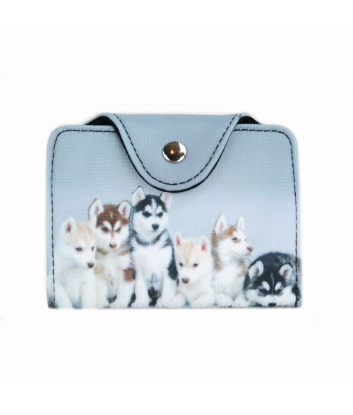 Porte-cartes - Huskies