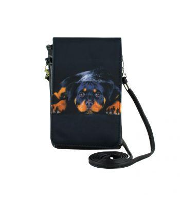 Pochettes téléphones XL - Bébé Rottweiler