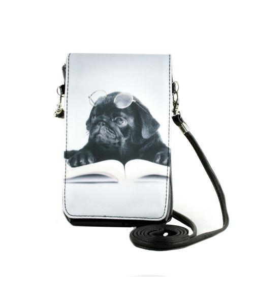 Pochettes téléphones XL - Carlin noir