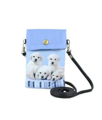 Petites pochettes téléphone - 5 labradors