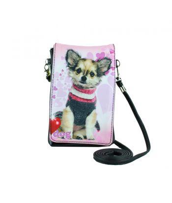 Pochettes téléphones XL - Chihuahua pull over