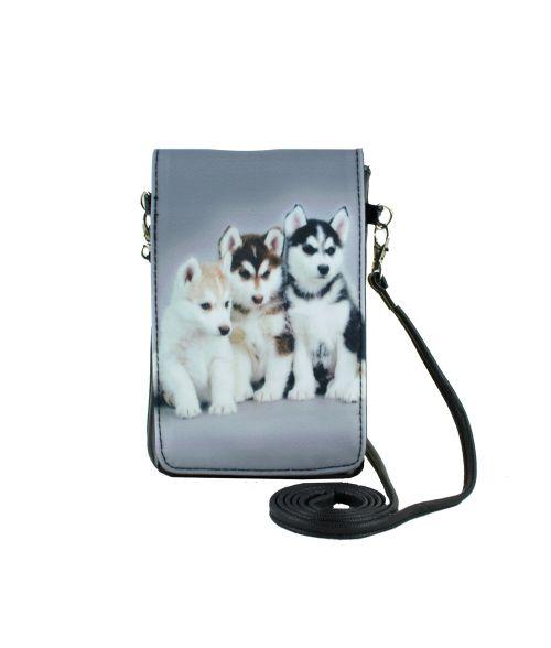 Pochettes téléphones XL - Huskies