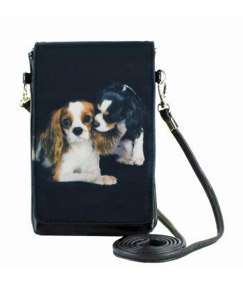 Pochettes téléphones XL - Chihuahuas Epagneul bi-color