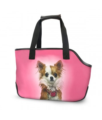 Sac de transport - Chihuahua rose