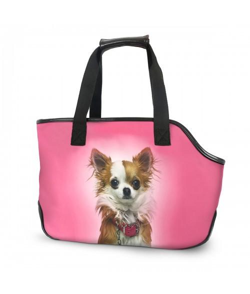 Sac de transport - Chihuahua rose