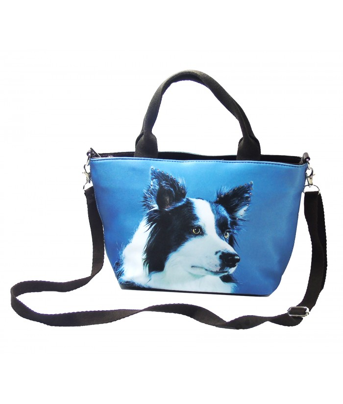 "Petits sacs ""week-end"" - Border Collie"
