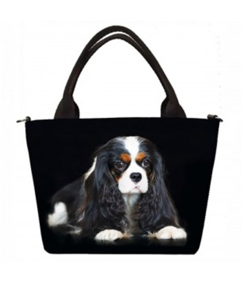"Petits sacs ""week-end"" - Cavalier King Charles Tricolor"